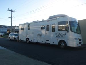 Digital Odyssey road train
