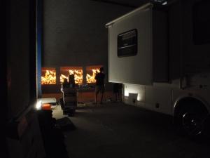 Testing the projectors